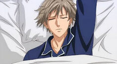 Shiraishi waking up