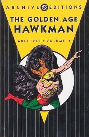 Cover for Golden Age Hawkman Archives #1