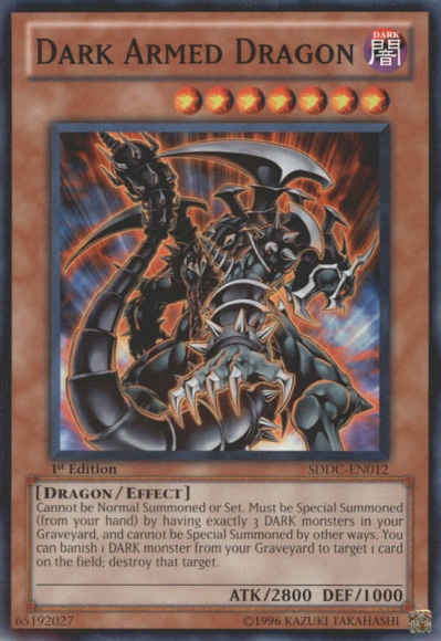 Dark Armed Dragon - Yu-Gi-Oh! - It's time to Duel!