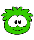 Green puffle new look