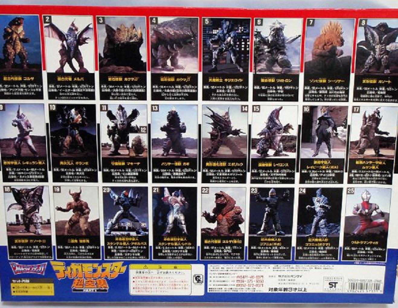 All Ultraman Tiga MonstersUltraman Monsters List