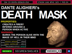 Dante Alighieri&#39;s Death Mask