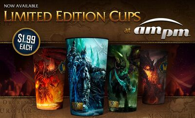 WoW Limited Edition Cups at ampm