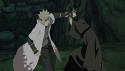 Minato vs Tobi