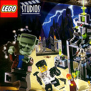 Lego scary lab (frankenstein)
