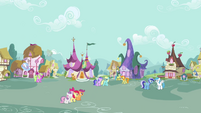 Ponyville town exterior S2E17