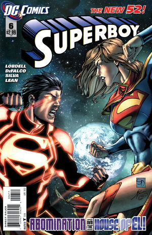 Cover for Superboy #6