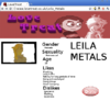 Www.lovetreat.co.uk Leila Metals