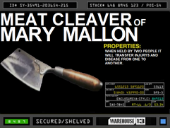 Meat Cleaver of Mary Mallon
