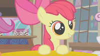 Apple Bloom with her new friends S1E12