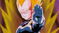 VegetaPreparesToAttackAndroid18