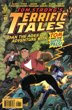 Cover for Tom Strong's Terrific Tales #8