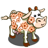 Cherry Blossom Cow-icon