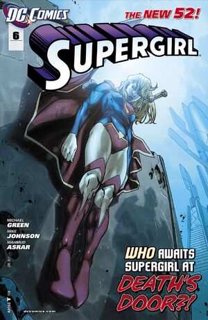 Cover for Supergirl #6