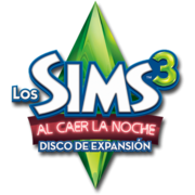 Logo sims 3 al caer la noche