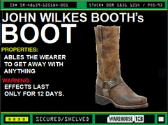 John Wilkes Booth&#39;s Boot