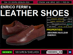 Enrico Fermi&#39;s Leather Shoes