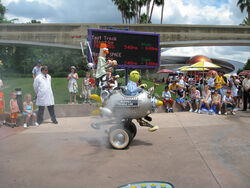 Muppet Mobile Lab at Epcot