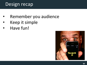 Design & Promotion Tips Slide15
