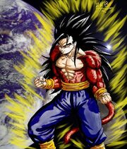 Gohan ssj4 edited 1 by BK 81