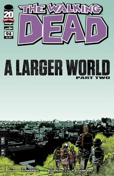 The Walking Dead Issue 94 Cover