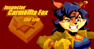 Carmelita fox the law drawing