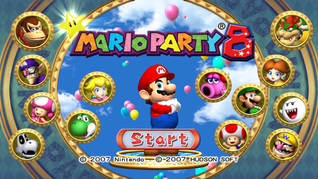 Mario Party 8 png ...
