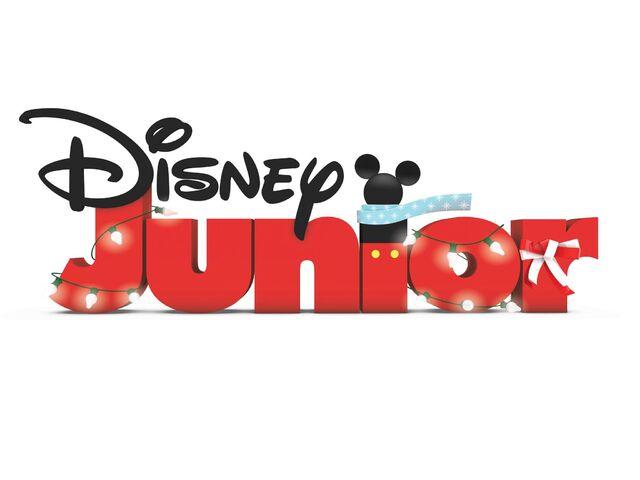 image disney junior xmasjpg logopedia the logo and