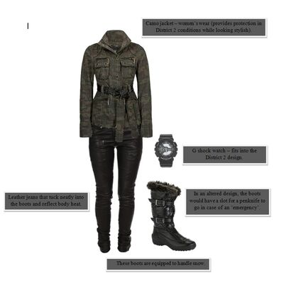 District 2 - women's work wear