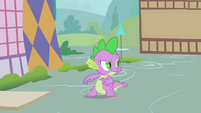 Spike hatching evil plan S1E24