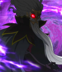 Hades activates his Demon's Eye