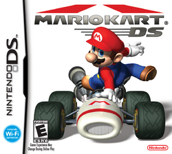 Mario Kart DS - North American Front Box