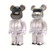 Bearbrick datf-punk