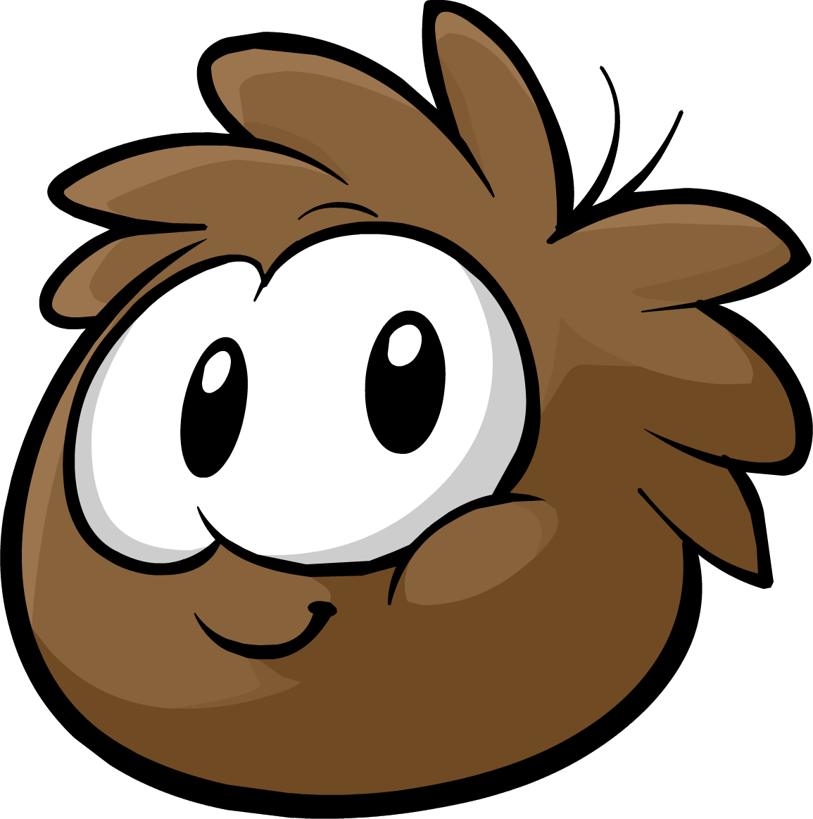 How To Draw A Puffle From Club Penguin Brown Puffle - It was