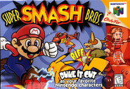 Super Smash Bros. - North American Boxart