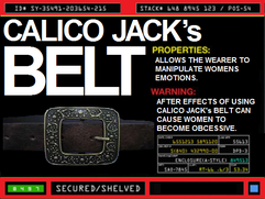 Calico Jack&#39;s Belt