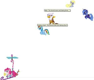 Ponies on desktop