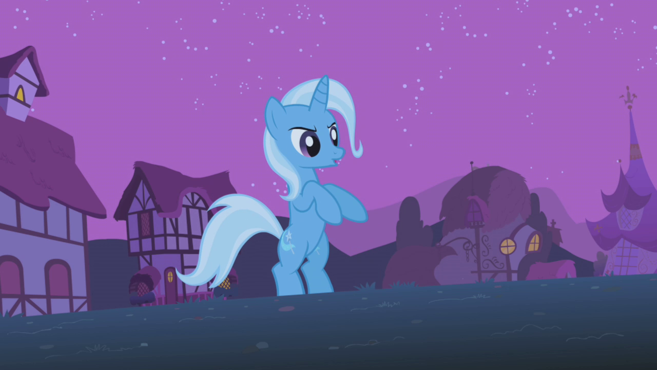 My Little Pony Twilight and Trixie
