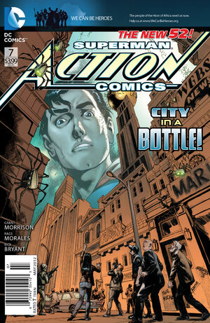 Cover for Action Comics #7