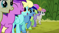 Minuette at Iron Will's rally S2E19