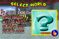 World Select 2001 - Diddy Kong Pilot