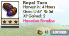 Royal Taro Market Info