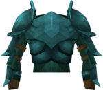 Rune platebody detail