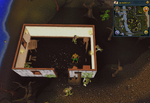 Simple clue Lumbridge goblin house boxes