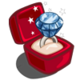 Winter Wonderland Platinum Diamond Unwither Ring-icon