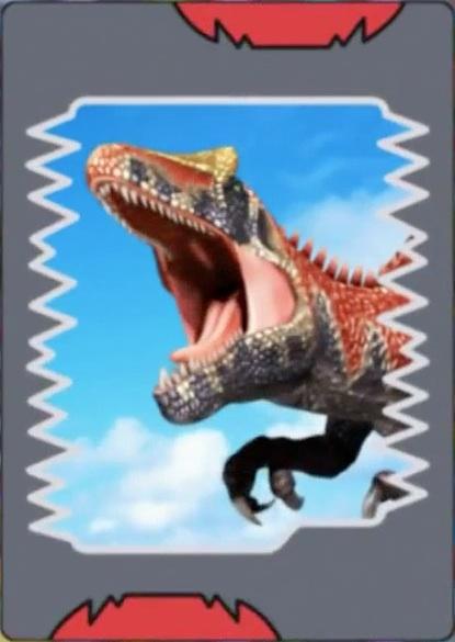 Image saurophaganax card dinosaur king - Dinosaure king ...