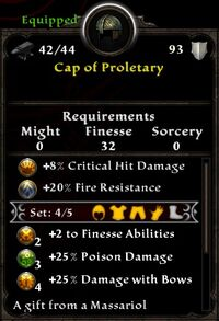 Cap of Proletary