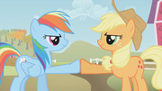 Applejack &amp; Rainbow brohoof S1E13