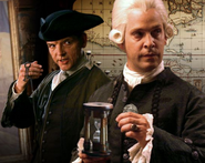 Lord Cutler Beckett and Mercer