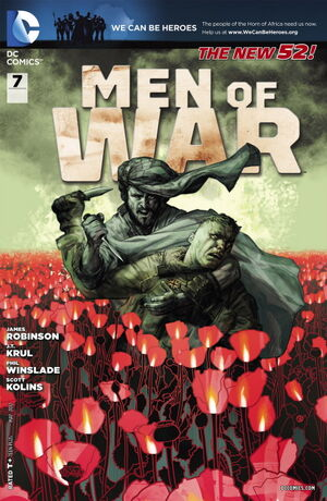Cover for Men of War #7
